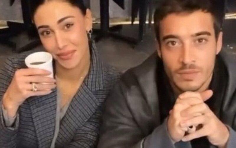 Antonino Spinalbanese e Belen Rodriguez