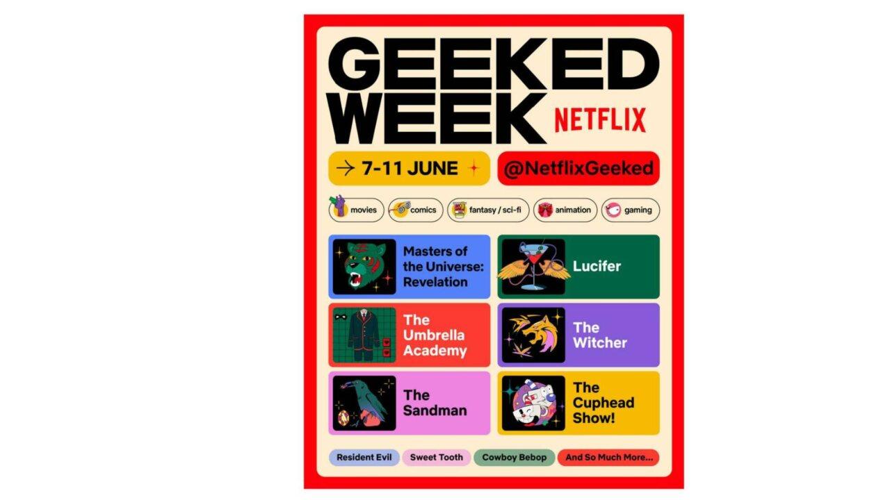 Geeked Week Netflix