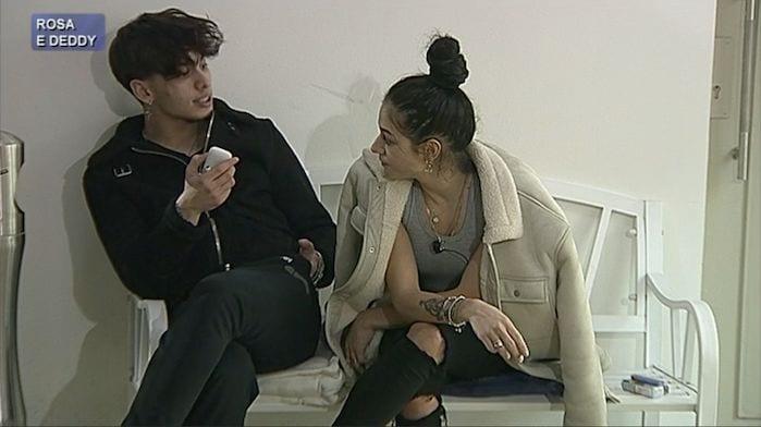 Deddy ammette la fine della storia con Rosa?