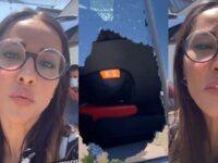 Juliana Moreira derubata si sfoga sui social